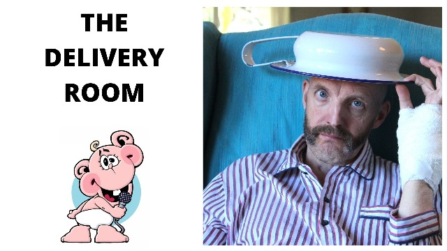 The Delivery Room presents Jim Tavar� - From Deadpan to Bedpan�