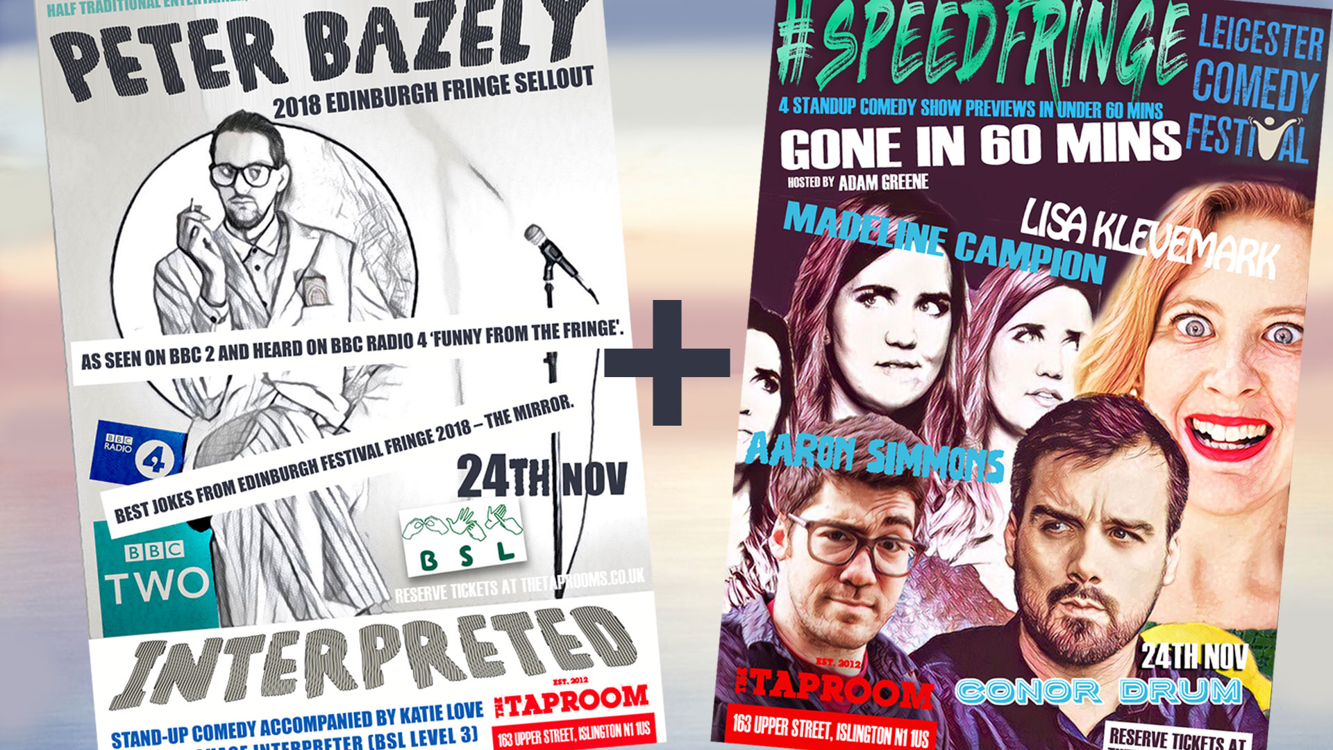Peter Bazely : Interpreted (Preview) + Leicester Speed Fringe